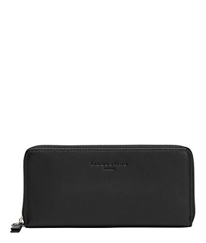 Liebeskind Berlin Basic Sally Portemonnaie, Large (9.4 cm x 18.8 cm x 2cm), black