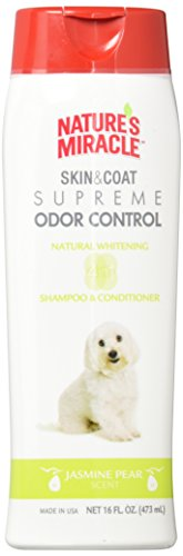Nature's Miracle Supreme Whitening Odor Control Shampoo, 16 oz.