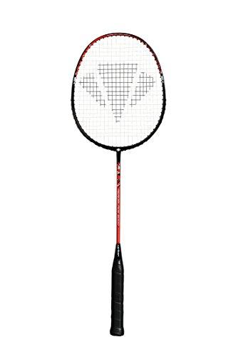 CARLTON Aeroblade 6000 Badmintonschläger, Schwarz/Rot, Einheitsgrö�e