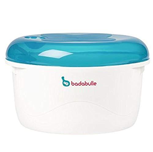 Badabulle B003204 - Esterilizador micro-ondas, color azul y