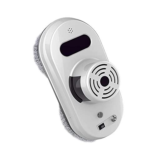 Limpiador de Ventanas Robot Aspirador Lavador de Ventanas para el Hogar Limpiador de Ventanas Limpiador de Ventanas Robótico de Vidrio, Exterior Interior,Blanco