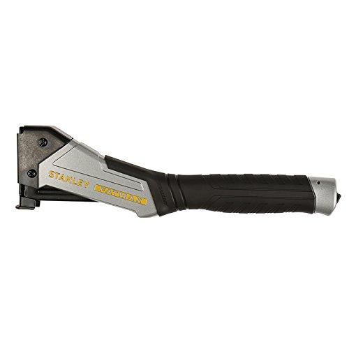 Stanley FatMax Hammertacker / Heftpistole, Antivibe (Aluminiumgehäuse für Klammern Typ G 8-12mm, mit Vibrationsdämpfung, gummierter Überzug, ergonomischer Handgriff, rückschlagfrei) FMHT0-74997