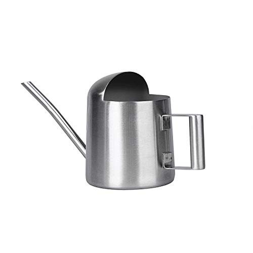 IMEEA 17oz/500ml Mini Bonsai Watering Can for Indoor Houseplant Stainless Steel Small Tiny Watering Pot with Long Spout