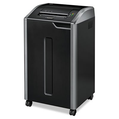 Best Review Of Fellowes 38420 Powershred 425i 100% Jam Proof Continuous-Duty Strip-Cut Shredder, TAA...