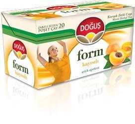 Doğuş Form Tea with Apricot, 4 Box / 20 teabags