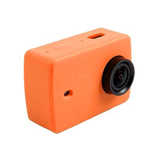 Hangmao - Carcasa de silicona para cámara Xiaomi Xiaoyi Yi II Sport Action Camera (color: púrpura)