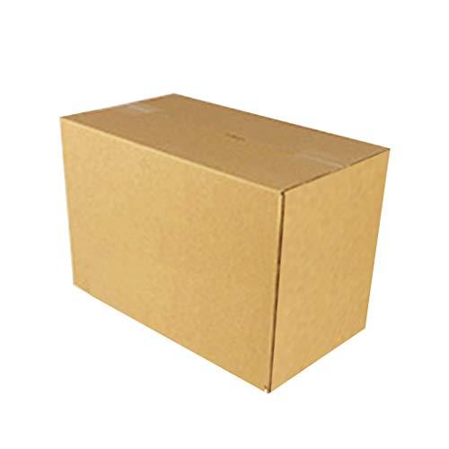 planuuik Rectangular Gran Capacidad Embalaje Caja Almacenamiento Express Cartón Cartón Grueso