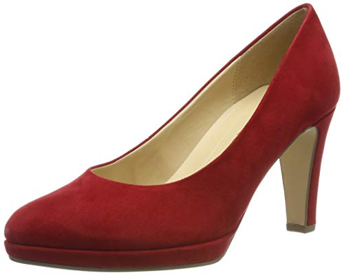 Gabor Shoes Gabor Fashion, Escarpins Femme, Rouge (Cherry 55), 44 EU
