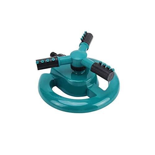 XLSM Automatic 360°Rotating Garden Sprinkler, Good Stability, Adjustable Sprinkler Used For Lawn, Courtyard, Garden Swing Sprinkler