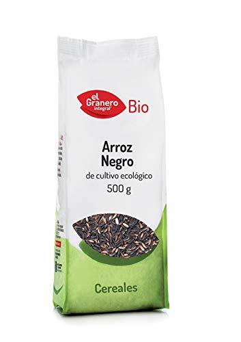 GRANERO ARROZ Negro Bio 500 gr, Estandar