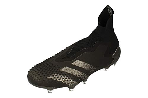 adidas Predator Mutator 20+ Fg, Scarpe da Calcio Unisex-Adulto, Cblack/Cblack/Dgsogr, 42 2/3 EU