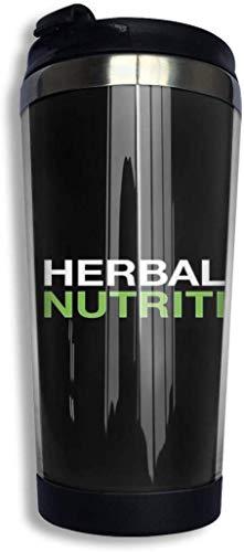 ngfh quan junxiasx Herbalife Merchandise Botella Agua Acero Inoxidable 13.5oz Taza de Viaje, Termo Taza, Frasco de Vacío