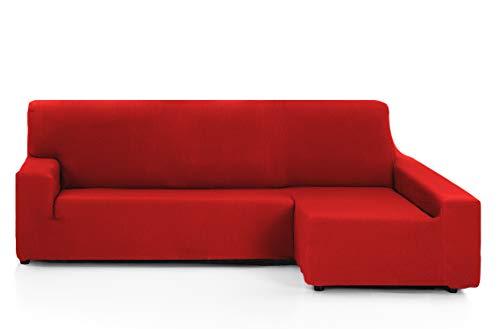 Martina Home Tunez Funda Chaise Longue, Rojo, Brazo derecho