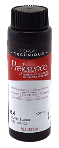 Loreal Preference Color #8.4 Reddish Blonde (6 Pack)