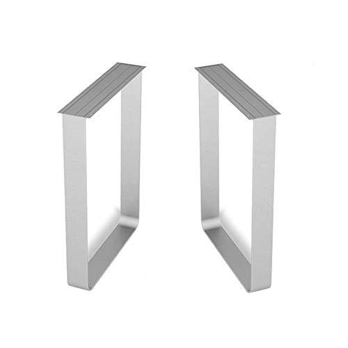 GJSN Patas de mesa, pies de niture, mesa de oficina, escritorio, mesa de café, metal, mesa de comedor, soporte de pie, 70 x 70 cm, 70 x 70 cm