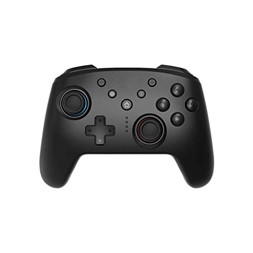 ZXZS Controlador De Juego Inalámbrico Bluetooth NFC Batería Long Battery Gamepad para Interruptor/Pc/Negro