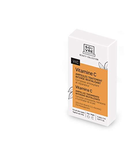 Lot 2 boîtes Ampoules x2 traitement intensif - Vitamine C - Revitalisant