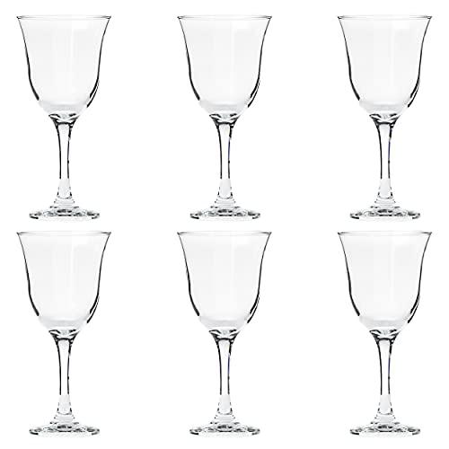 Table Passion - Verre à vin jambe haute 27 cl elba (lot de 6)