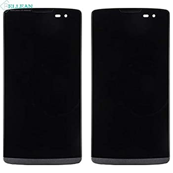 Lysee Mobile Phone LCD Screens - Catteny 10pcs 4.5  For LG Leon H340N H326 MS345 H345 LCD Display H340 Touch Screen Digitizer+fram Smartphone Replacment Free DHL -  Color  Black With Frame