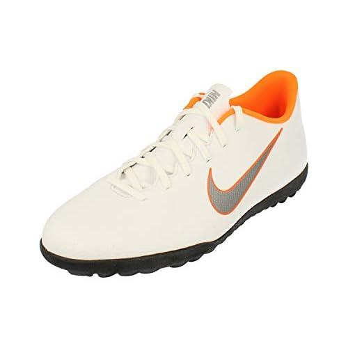 Nike Mercurial Vapor X 12 Club TF AH7386 107, Scarpe da Calcio Unisex-Adulto, Mehrfarbig (Indigo 001), 40.5 EU