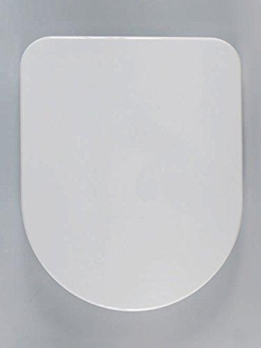 Haro Calla SoftClose Premium WC-Sitz 523381, weiß, Scharnier Klappdübel C1202G; passend zu Laufen Pro neu/Rimless, Vitra S50 Compact