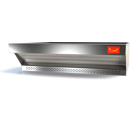 PizzaGroup - Campana extractora de acero inoxidable para horno Pizza P09FL10005