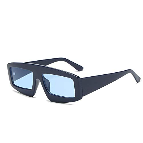 Damen große quadratische Sonnenbrille Marine Sonnenbrille Sonnenbrille Reisebrille Männer-C1
