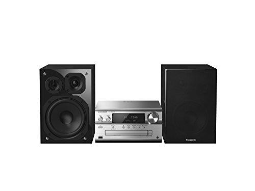 Panasonic SC-PMX150EGS - Microcadena Multiroom (Hi- Fi, Sonido para Hogar, 120 W, Altavoz De 3 Vías Supersónicos, Bluetooth, AirPlay, DLNA, USB,WiFi, CD y Radio RDS, Amplificador Digital)-Color Plata