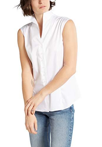 eterna ohne Arm Bluse MODERN Classic unifarben