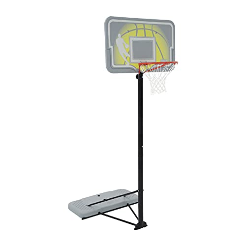 Lifetime 90992 Adjustable Portable Basketball Hoop, 44-Inch Impact Backboard