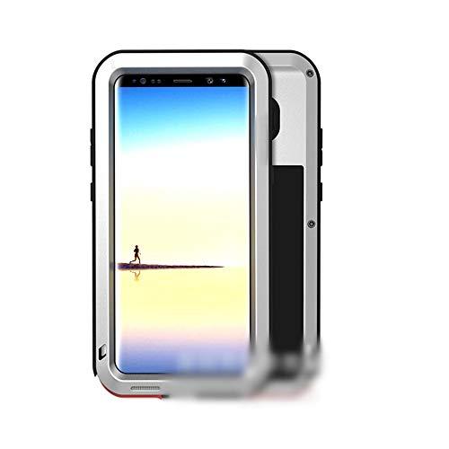 LASTARTS Tres Funda Protectora Carcasa del teléfono Anti-móvil Nueva Carcasa metálica con protección contra caídas para Samsung S8 Plus, S8, S9, S9 Plus, Note 8, Note9 Funda pa