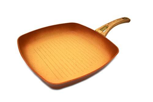 Amercook Grill Terracotta gestreift 28 cm