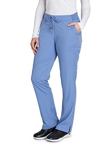 Grey's Anatomy 4277 Women's Mia Pant Ciel Blue L Tall