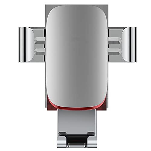 Soporte para teléfono de coche Soporte de gravedad Salida de aire Navegación Soporte de teléfono móvil Accesorios de teléfono móvil para iPhone 11/11 Pro/11 Pro Max/X/XS, Huawei