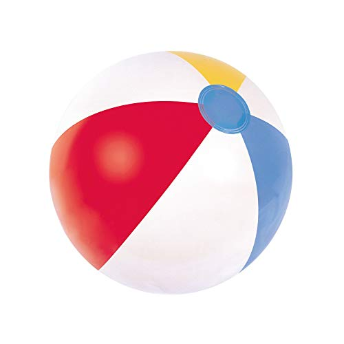 Bestway Panel Beach Ball - 16 inch, White