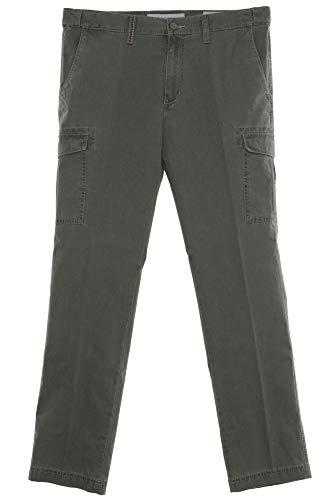 Pionier Cargo Hose Pants Cargohose Outdoor Stretch Herren Straight Fit, Farbe:Khaki, Herrengrößen:54