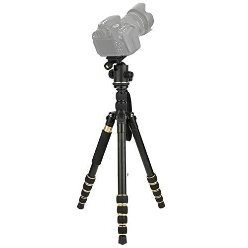 DAUERHAFT Trípode de Soporte de cámara, trípode de fotografía de cámara Plegable con Bolsa de Almacenamiento, para Olympus