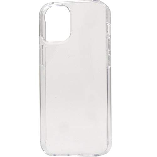 iPhone 12 mini ケース (5.4 インチ) バックカバー ハードケース 背面 カバー マイクロドット加工付 アイフォン 12 ミニ 【 クリア 】