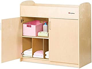 2020 Foundations Serenity Changing Table, Natural
