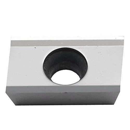 Maifix 10pcs APKT1604-AL ZK01 CNC de mecanizado de aluminio de corte BAP400 End Mill Precision Torno de fresado de carburo de inserción