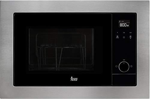 Teka MS 620 BIS Microondas con grill, 1100 W, 20 litros, Otro, Gris