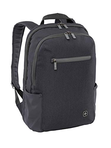 Wenger 602809 CITYFRIEND 15.6' Backpack with Tablet Pocket In Black {19 Litres}