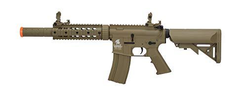 LT-15T M4 SD Metal Gear Airsoft Rifle Gun AEG Full/Semi Automatic Tan 400 FPS