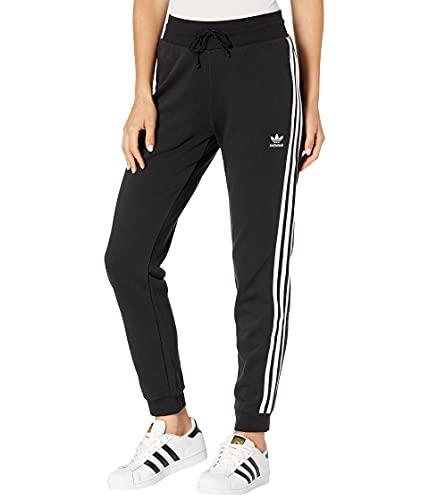 adidas Originals Slim Cuffed Pants Pantaloni, Nero, L Donna