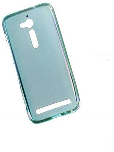 compatibile Para Asus Zenfone Go ZB500KL 5.0' X00ADA X00ADC X00AD / ZB500KG 5.0 (X00BD) Funda carcasa de gel silicona TPU + Protector de cristal templado (turquesa)