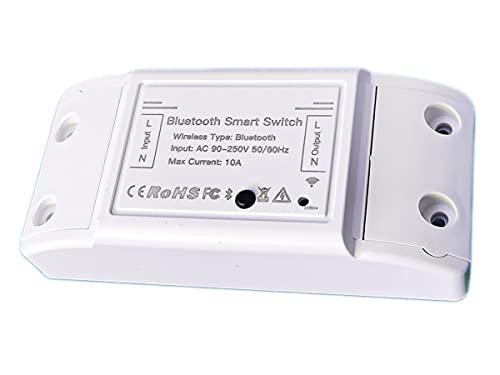 Bluetooth Smart Switch, Interruttore Intelligente Bluetooth BLE Mesh, 220V 10A 2200W, Compatibile Con Alexa e Google Home