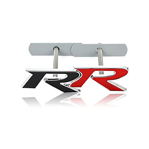 Front Grille Logo,for Honda RR Civic Mugen Accord CRV City HRV Front Grille Badge Emblem, Nameplate Bonnet Logo Car Styling Accessories 1pcs