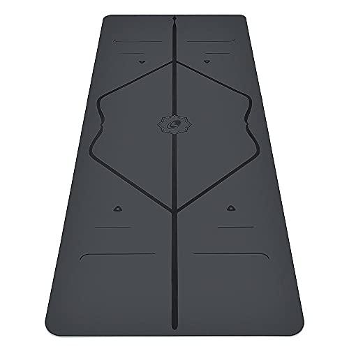 Liforme Tappetino Yoga - Miglior Tappeto da Yoga Eco-Sostenibile, Antiscivolo con Esclusivo Sistema con Indicatori di Allineamento - Tappetini Yoga Biodegradabile -...