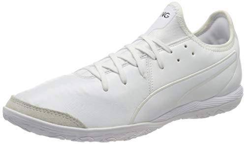 PUMA Unisex King Pro IT Fußballschuhe, White White White, 45 EU