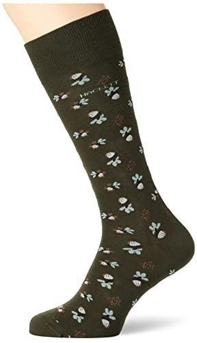 Hackett London Mens Acorn Socks, 665GREEN, ML